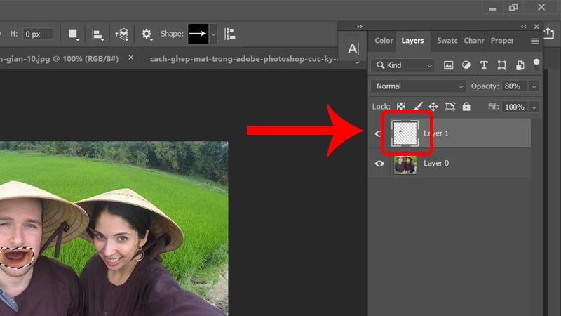 Cách ghép mặt trong Adobe Photoshop cực kỳ đơn giản