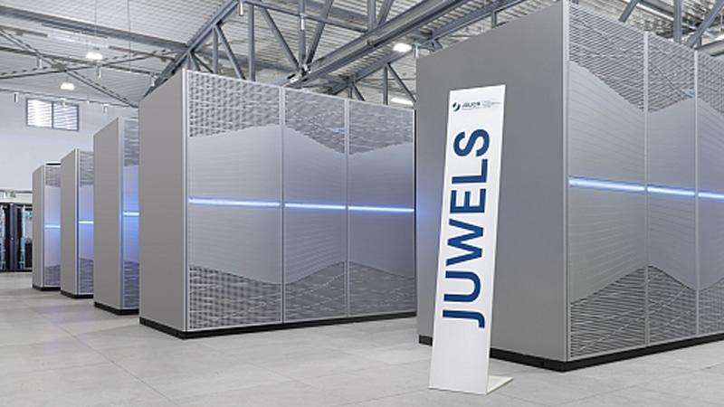 Siêu máy tính JUWELS Booster Module