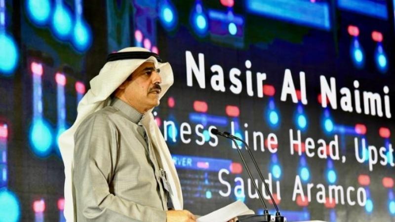 Đại điện của Saudi Aramco phát biểu về siêu máy tính Dammam-7