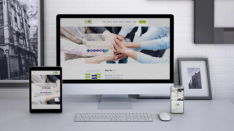 Ngoài ra, template website phải tương thích với nhiều thiết bị khác nhau