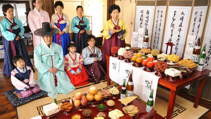 Tết Trung thu của người Hàn
