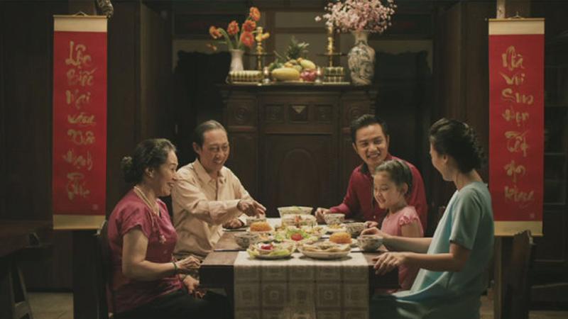 Gia đình sum vầy Tết Trung thu