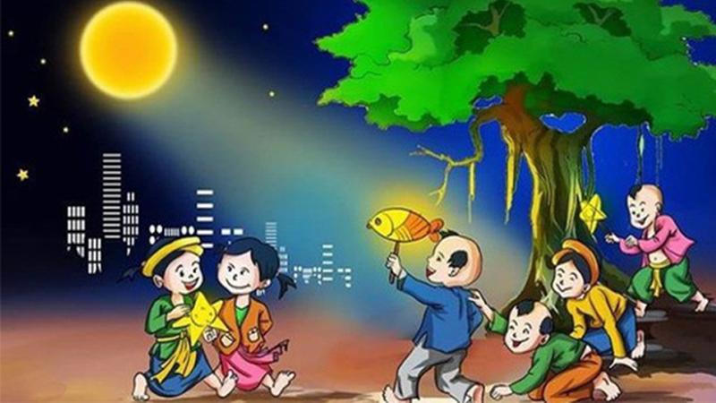 Trẻ em rước đèn