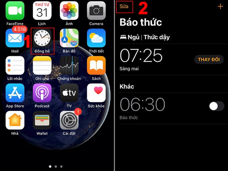 Cách thay đổi nhạc chuông báo thức trên iPhone nhanh chóng, đơn giản