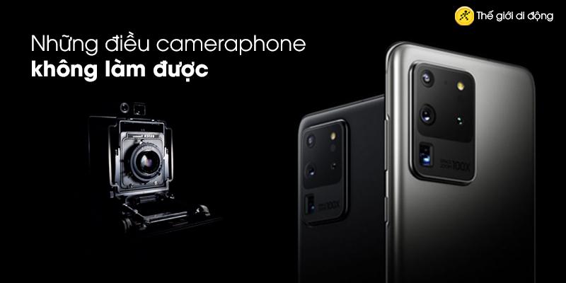 Những điều camera phone không làm được như trên máy ảnh chuyên dụng?