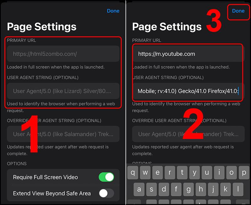 Nhập các mã này để ứng dụng tự động bật lên trang YouTube khi mở