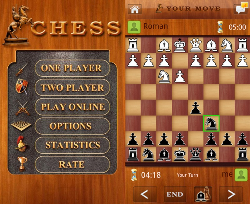 Ảnh minh họa game Chess Live