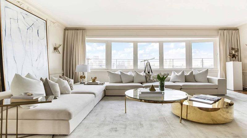Màu sắc phong cách nội thất Luxury