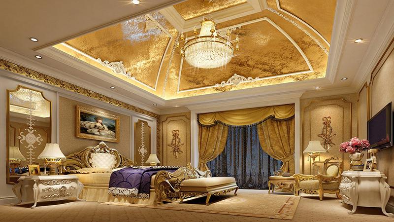 Phòng ngủ theo phong cách luxury