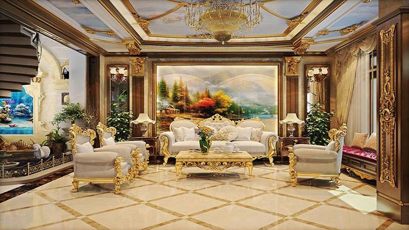 Ngôi nhà theo phong cách Luxury