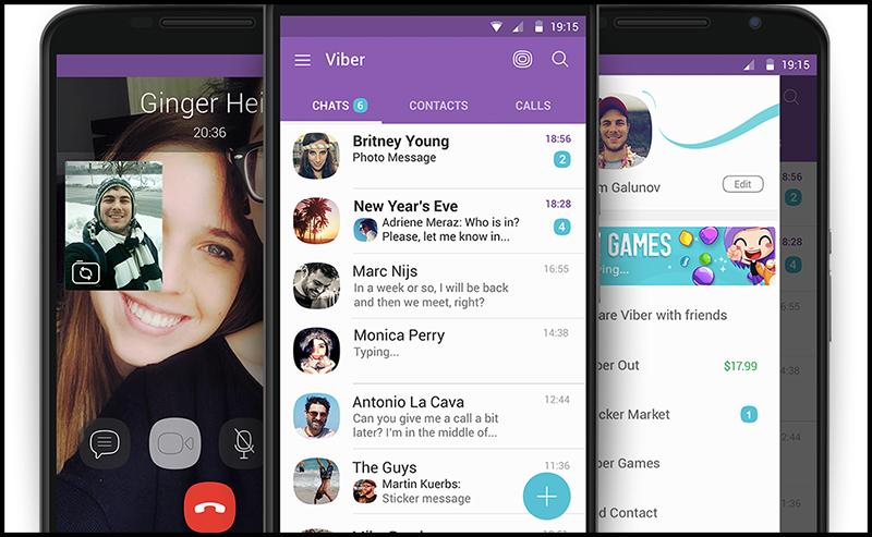 Android là dòng điện thoại sử dụng Viber nhiều nhất