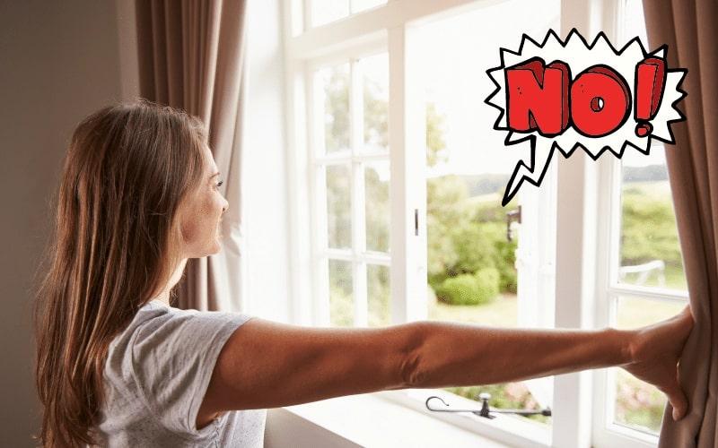 Chỉ cần đóng kín cửa thôi cũng giúp tình trạng nồm cải thiện