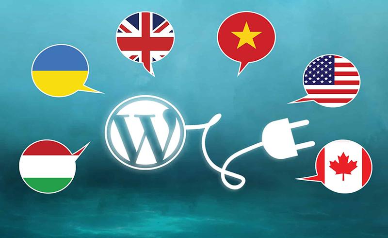 WordPress hỗ trợ nhiều loại ngôn ngữ