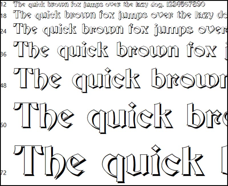 Font chữ 3D J19D siêu ngầu