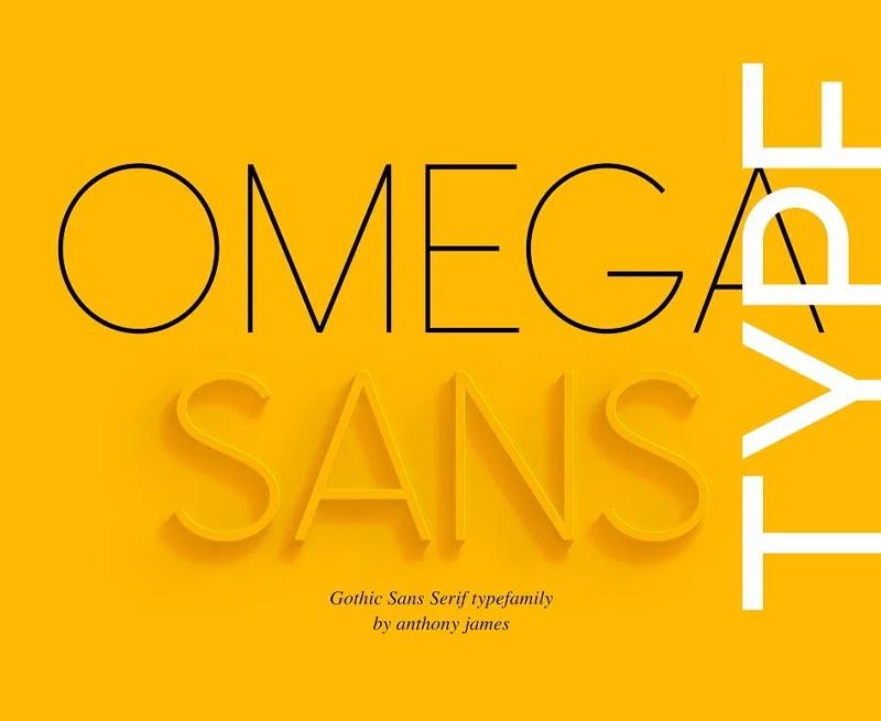 Mega_sans là phong chữ phù hợp cho nhiều thiết kế