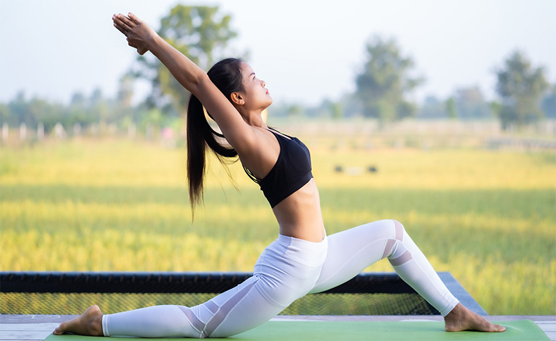 Tập Yoga giúp giảm cân lành mạnh