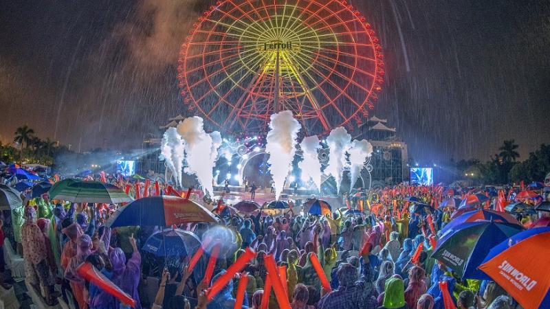 Sự kiện countdown được tổ chức tại Đà Nẵng