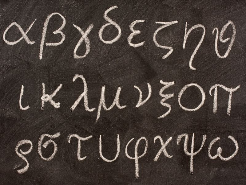 Bảng chữ cái Hy Lạp