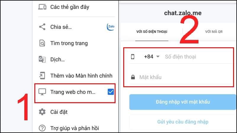 [Video] Cách khắc phục lỗi không truy cập được chat.zalo.me điện thoại