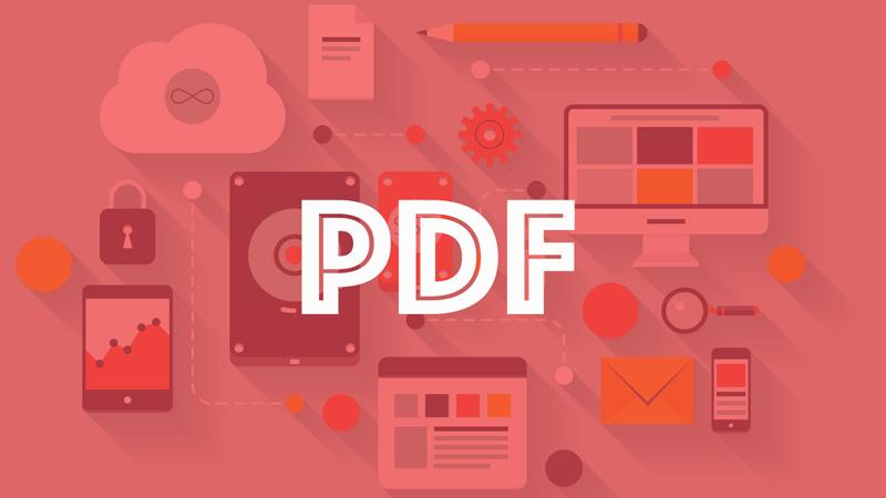 Tại sao PDF lại được sử dụng phổ biến?