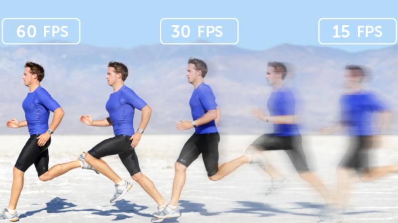 Tốc độ khung hình tối thiểu 30 FPS