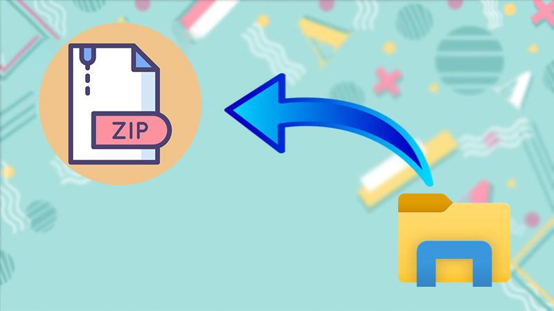 File zip có khả năng chứa các thư mục con (các file) khác