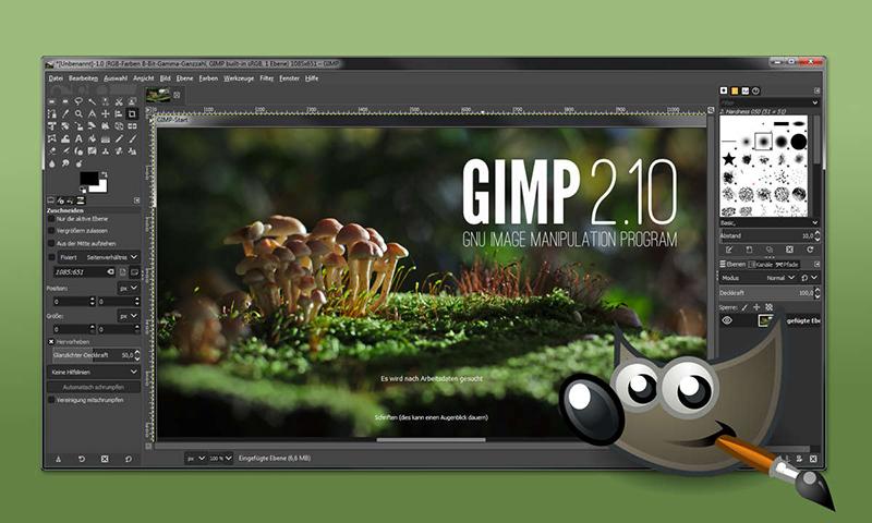 GIMP là phần mềm miễn phí phổ biến nhất cho phép bạn mở và chỉnh sửa file TIFF