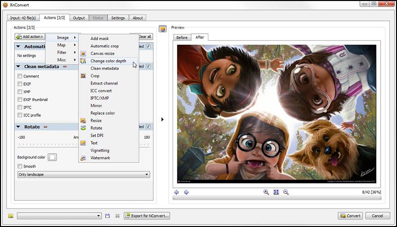 XnView là trình tạo ảnh miễn phí cho phép bạn duyệt và sắp xếp các bộ sưu tập ảnh
