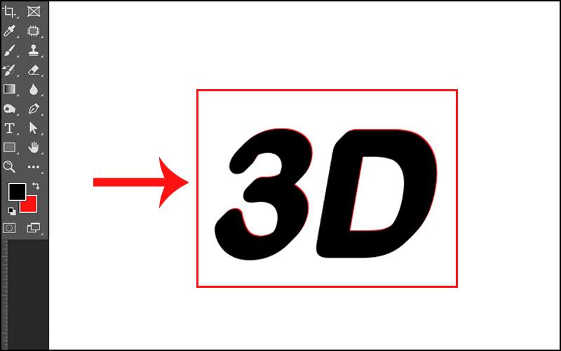 Tịnh tiến chữ để tạo kiểu 3D