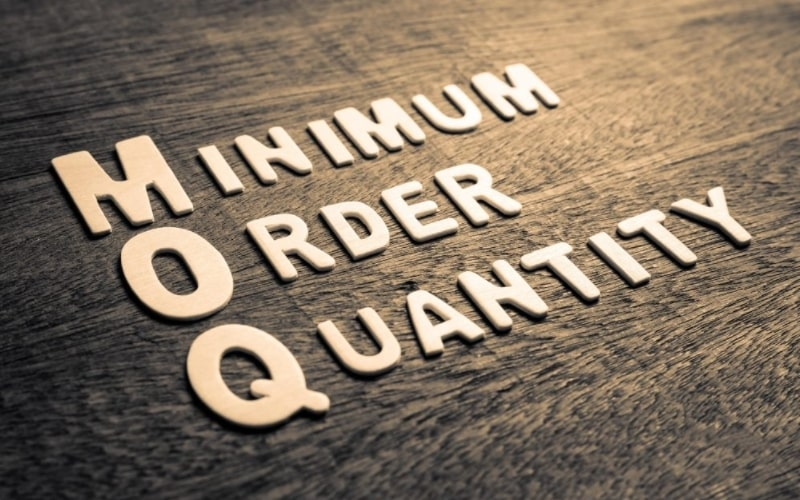 MOQ giúp nhà cung cấp dễ dàng tìm được đối tác