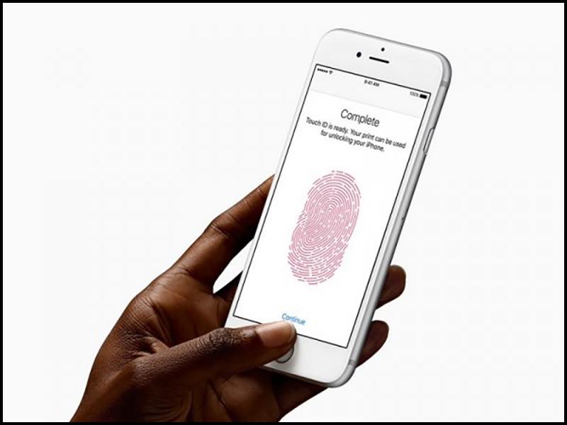 Rất dễ để nhận biết Touch ID có vấn đề