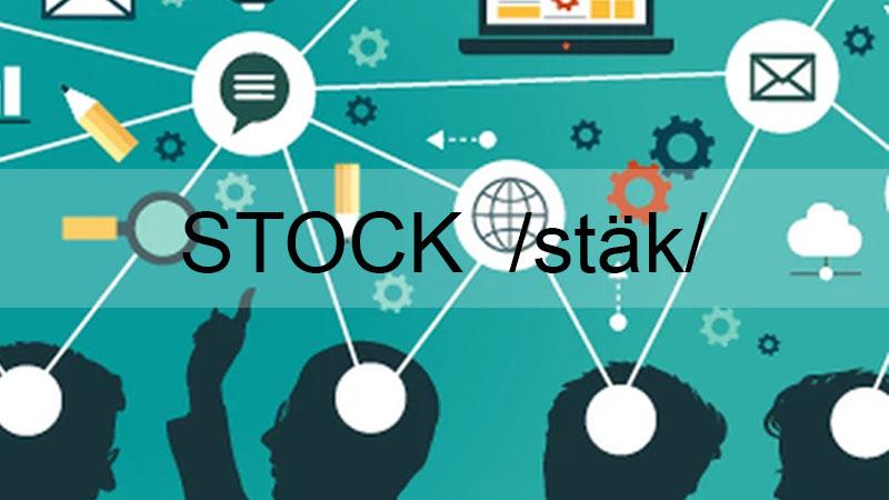Stock mang nhiều ý nghĩa khác nhau đối với từng lĩnh vực