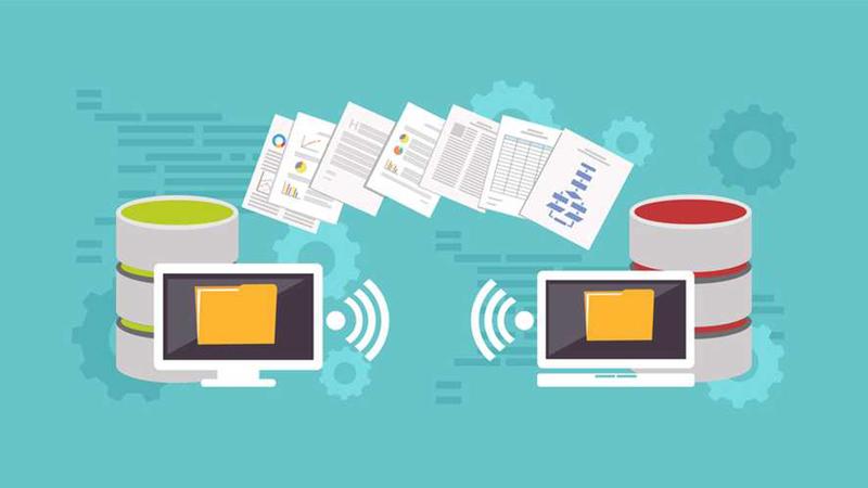 TCP/IP mô tả sự thay đổi thông tin khi truyền qua mạng và các tầng