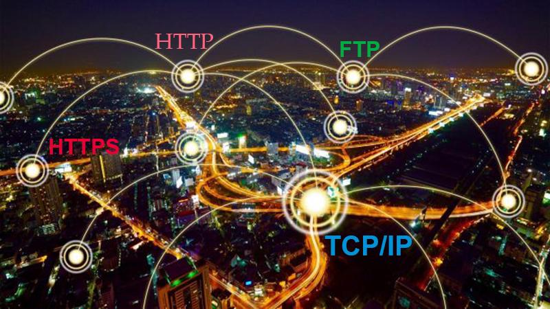 HTTP, HTTPS và FTP là 3 giao thức TCP/IP phổ biến nhất hiện nay