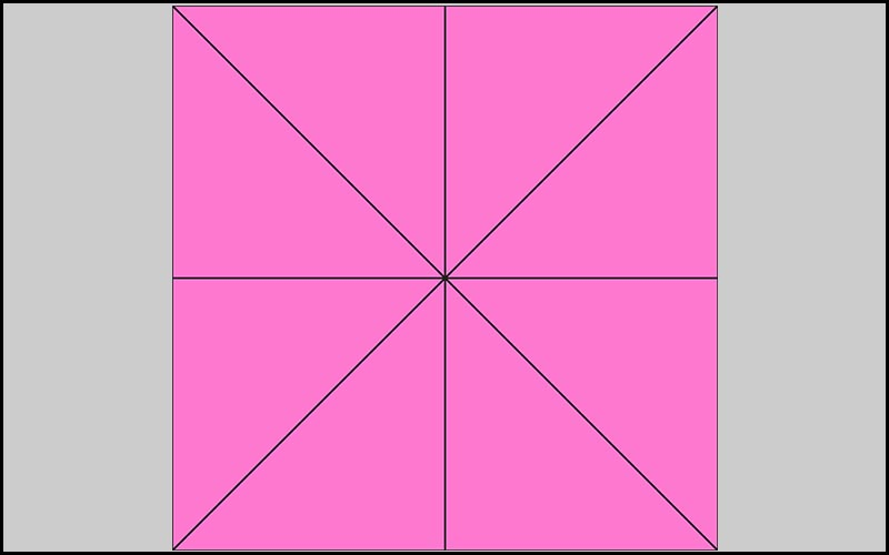 Hình vuông là một hình có cấu trúc đặc biệt
