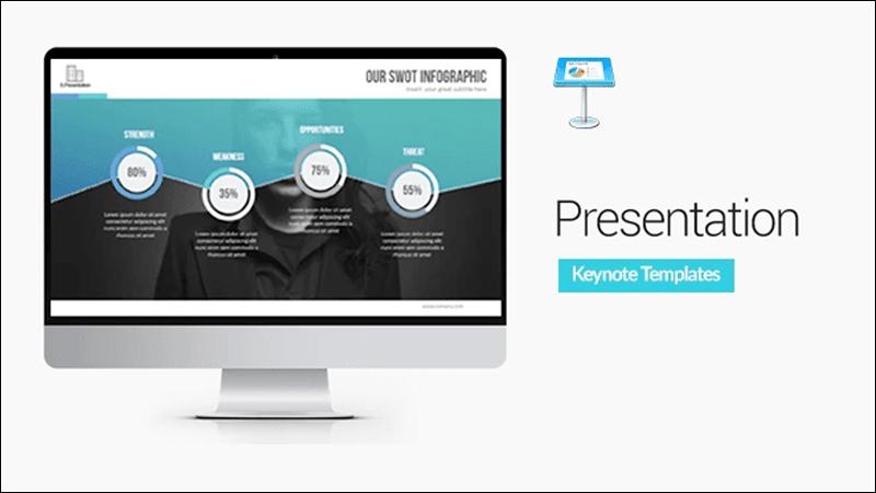 Keynote giúp tạo bài thuyết trình