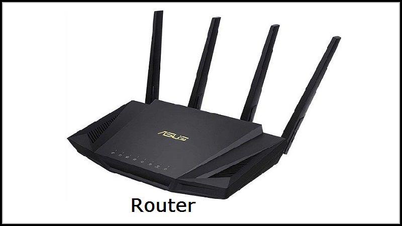 Kiểm tra dây với Router