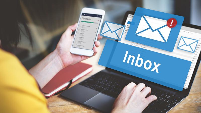 Đọc email quảng cáo tương tự như việc làm khảo sát cho một số doanh nghiệp