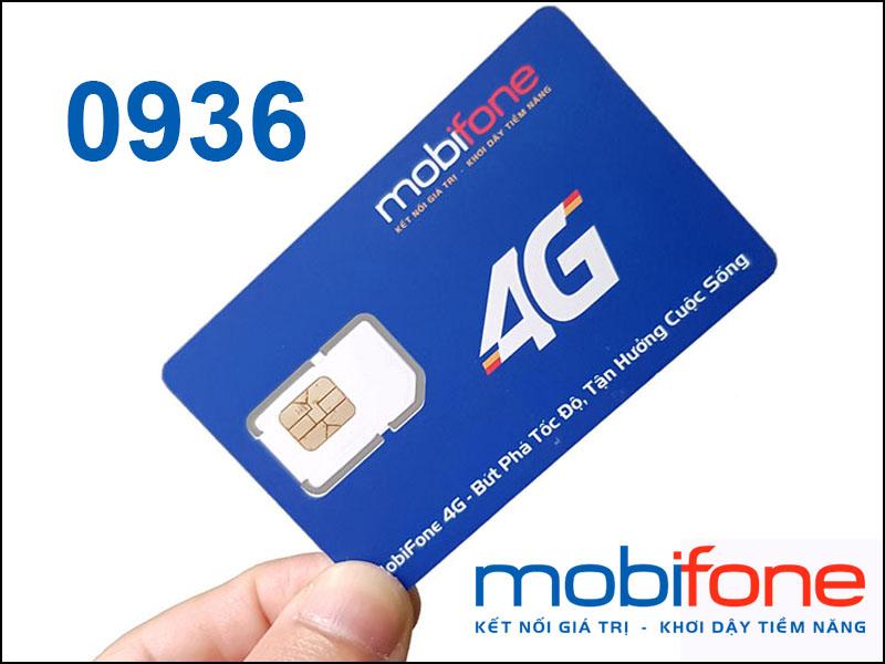 Đầu số 0936 là đầu số lâu đời của nhà mạng MobiFone