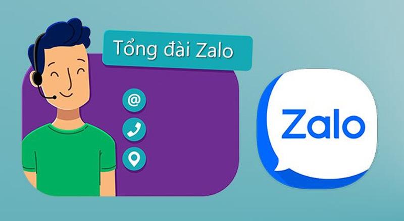 Gọi ngay tổng đài khi gặp lỗi từ máy chủ Zalo