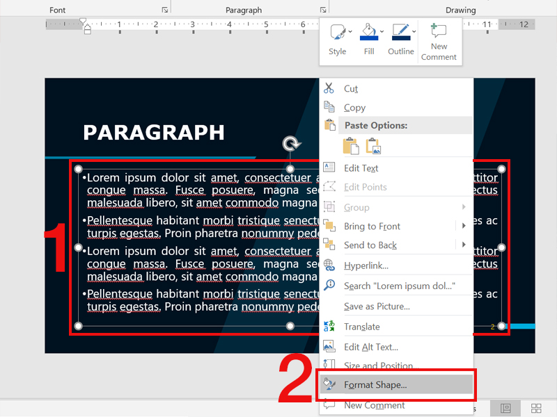 video cach chia doi slide trong powerpoint cuc nhanh don3