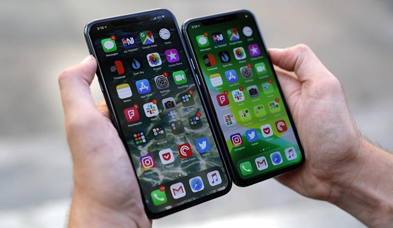 Kiểm tra ám màn iPhone