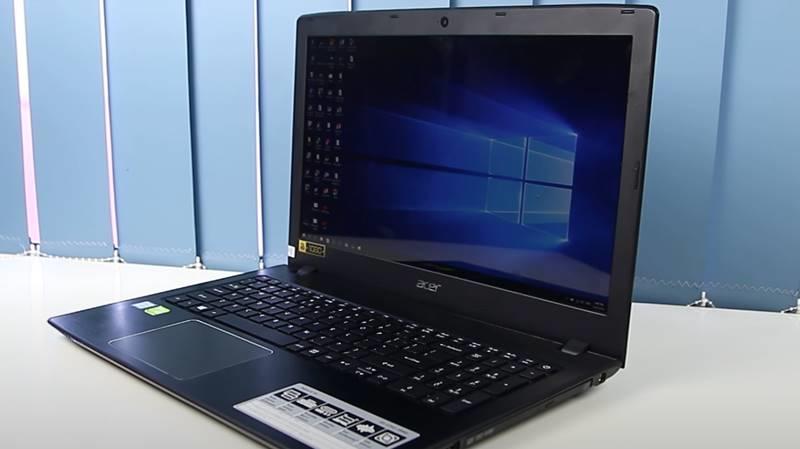 Cận cảnh chiếc laptop Acer Aspire E5 575G 53EC i5