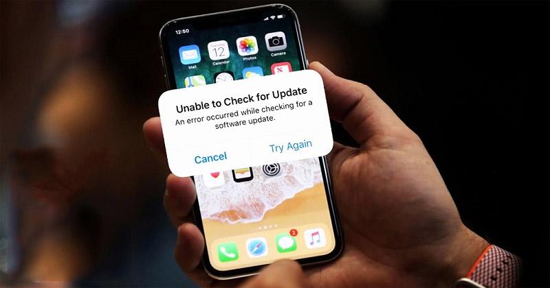 Cập nhật iOS lên phiên bản mới