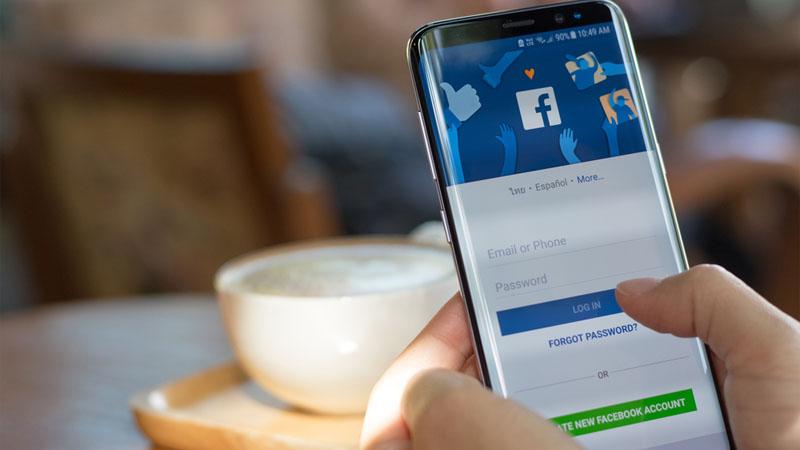 Không đăng ký được tài khoản Facebook