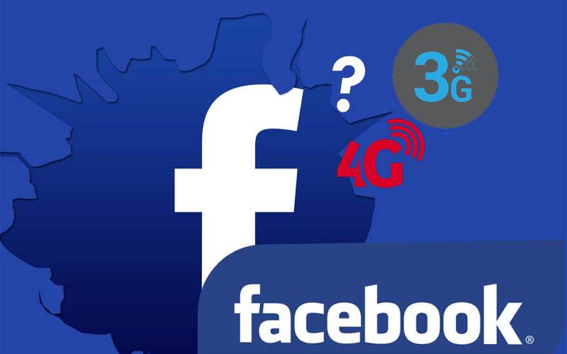 Sử dụng mạng 3G/4G khi tạo tài khoản