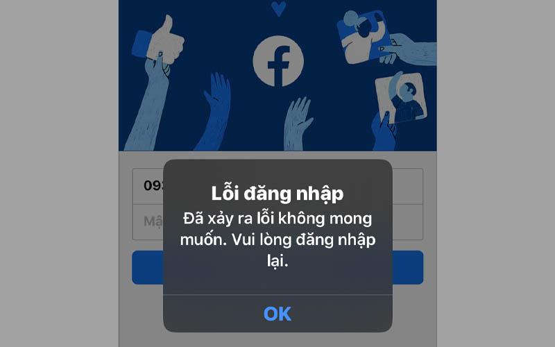 Tạo tài khoản Facebook nhưng không đăng nhập được?