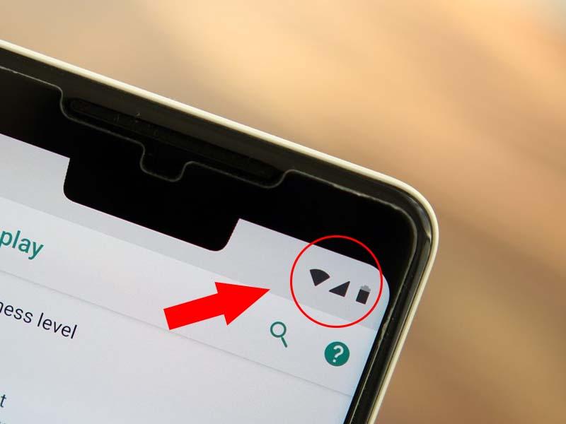 Không phải điện thoại Android nào cũng hiển thị tên nhà mạng ngay góc màn hình