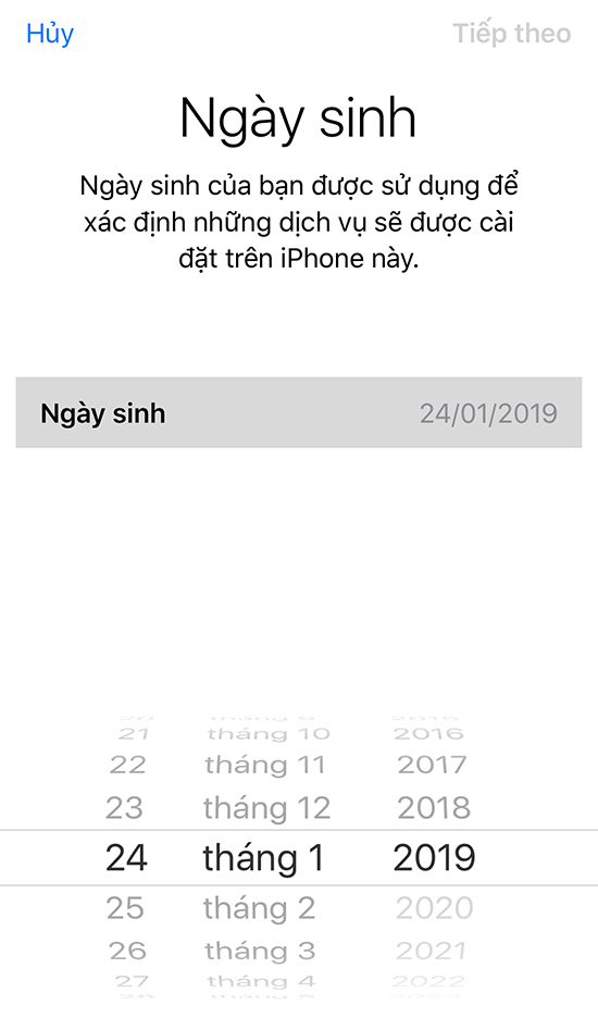 Tạo ID Apple