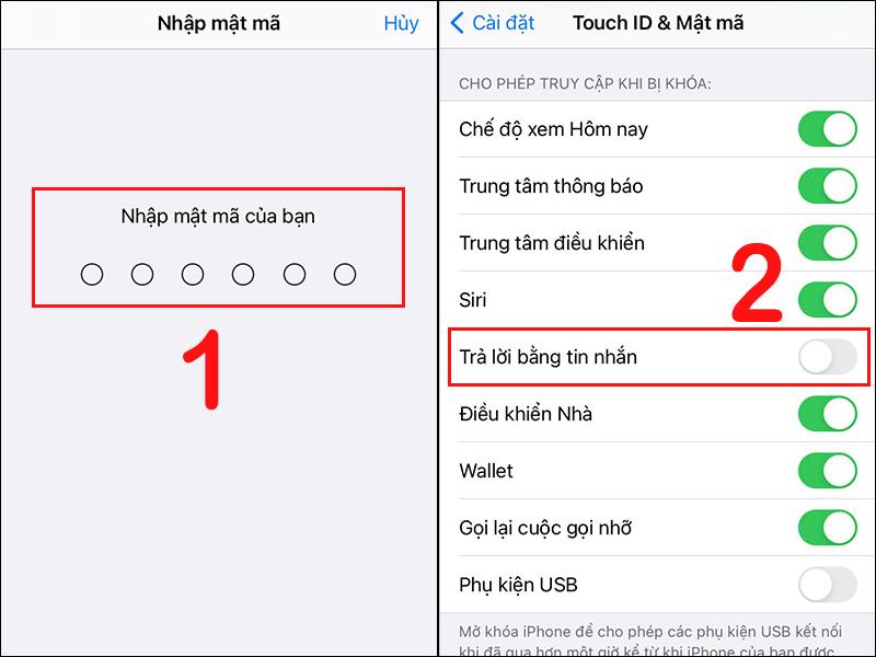 Tắt tùy chọn Trả lời bằng tin nhắn (Reply with Message)